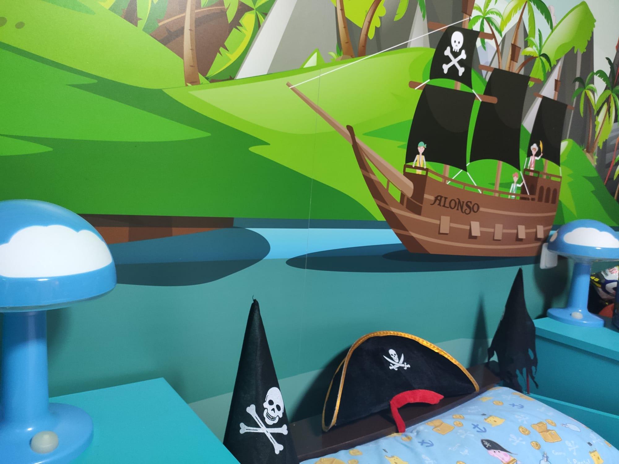 Habitación Pirata Infantil